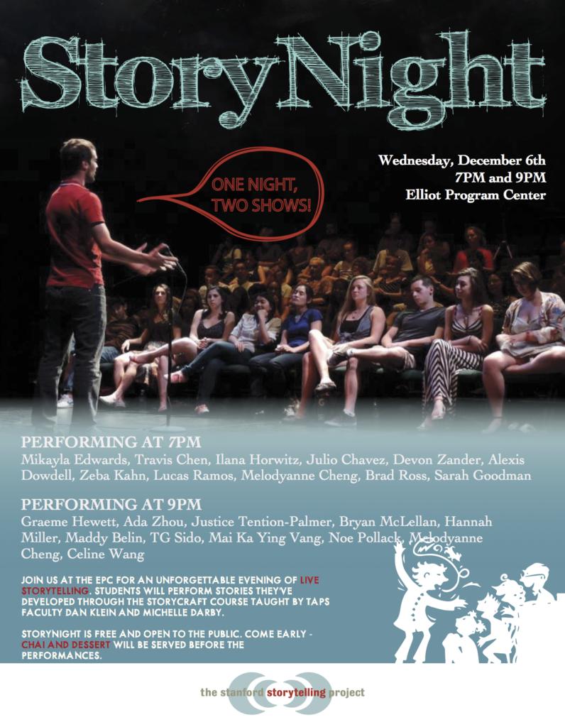 StoryNight Poster