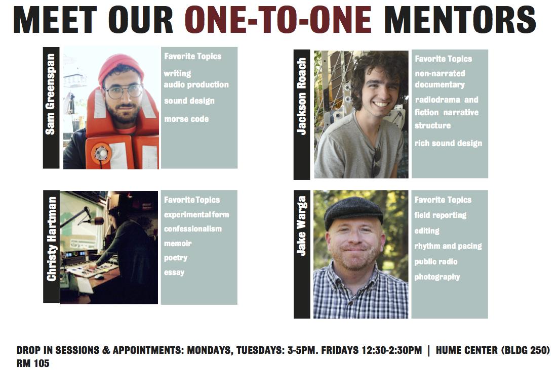 StoryLab Mentors
